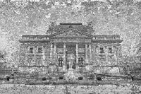 hessisches staatstheater - warmer damm - steinstruktur (photo art edition) - PHOTOGALERIE WIESBADEN - wiesbaden - impressionen 3